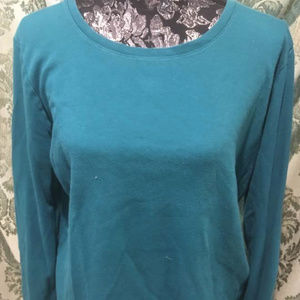 White Stag Teal Pullover Jersey, XL